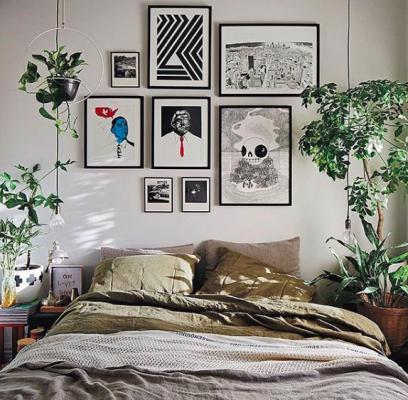 グリーンでお部屋を癒し空間に♪観葉植物を使ったインテリア術