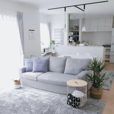 落ち着いたな雰囲気が魅力的♪グレーのインテリアを使ったお部屋実例8選