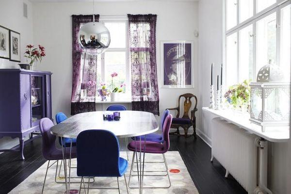 エキゾチックな雰囲気が魅力的♪パープルのインテリアを使ったお部屋実例6選