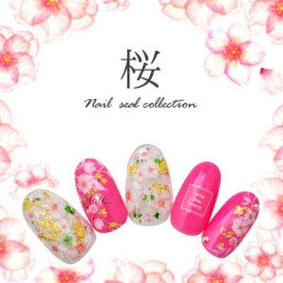 春らしい可愛い指先に♪インスタからピックアップした桜柄ネイルデザイン特集♪