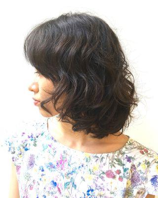 50代の髪を綺麗に見せる パーマスタイル特集 Plus Quality